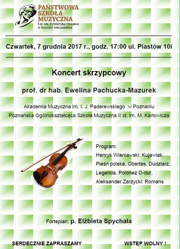 szkoła muzyczna koncert grudzień